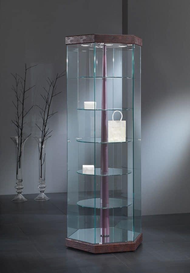 Elegant Showcases Minimal Design Display Cabinet For