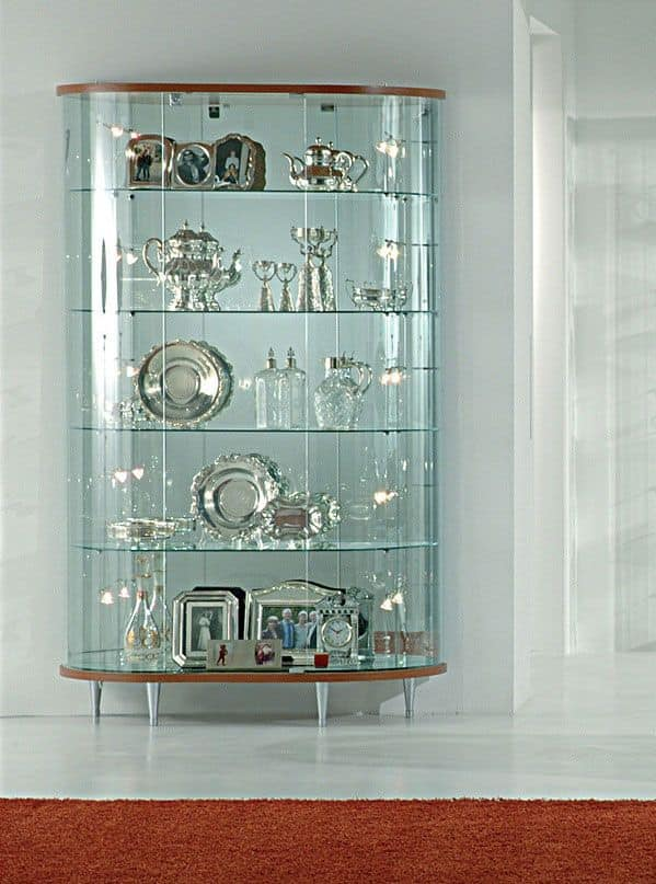 Glass display cabinet, stores furniture : IDFdesign
