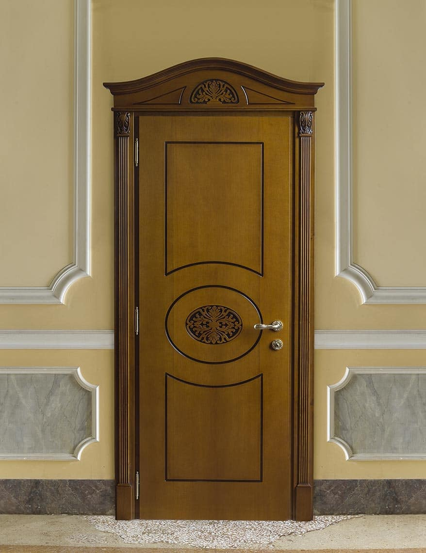 Art. 49500 Puccini Pantograph door in wood in luxurious classic style & Pantograph door in wood in luxurious classic style | IDFdesign