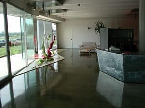 Picture of Autoleveling epoxy resin floors for stores, resin floor