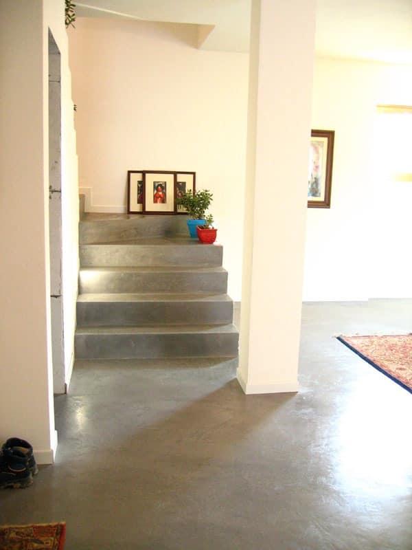 Rendered concrete resin floors 2, Resin floor, for residential use