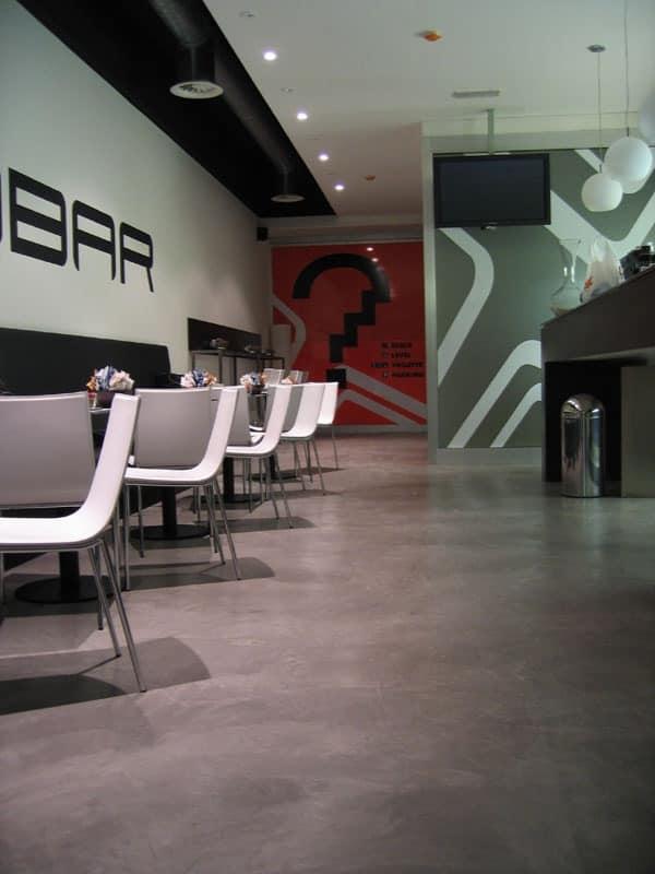 Rendered concrete resin floors for bars, Resin flooring, ideal for lounge bars