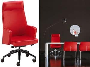 Picture of Ada 1 > executive office chair with headrest, padded office chair