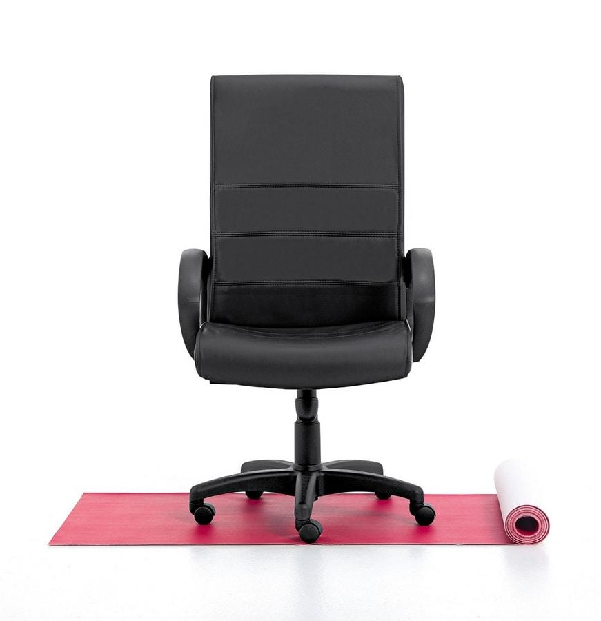 Texas 01, Directional high chair, gas lift, tilt mechanism