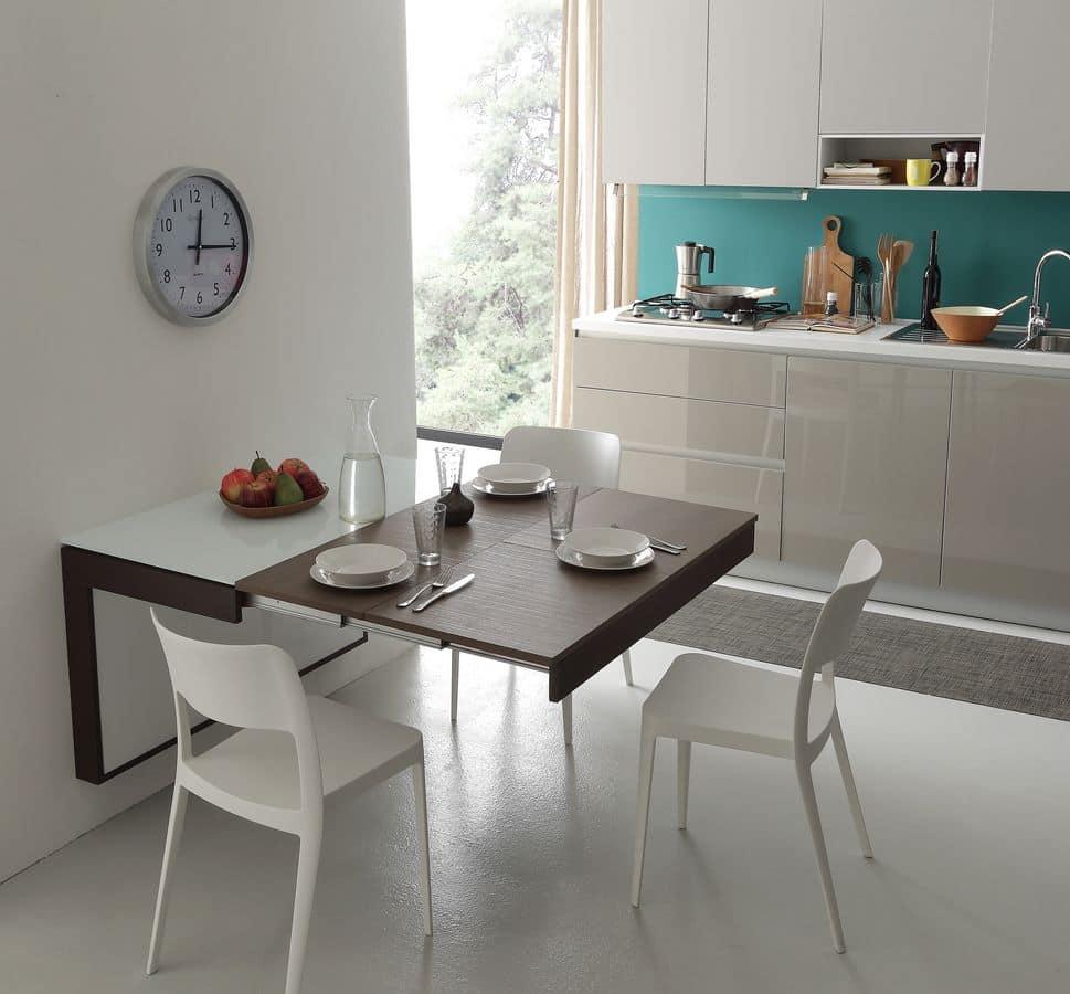 A106 daisy tavolo, Modern table ideal for apartments