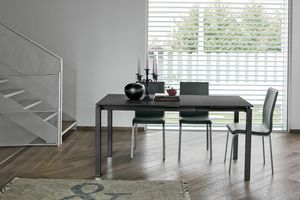 Picture of Auriga 110, extendable glass top tables