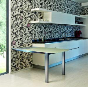 s10 voil�, Extendible peninsula for kitchen
