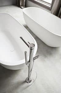 Picture of BREZZA floor bath mixer, suitable for hotel