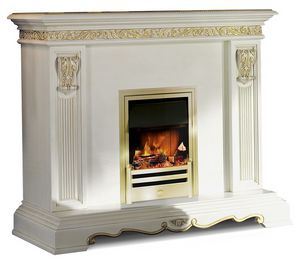 4054, Classic wooden fireplace covering