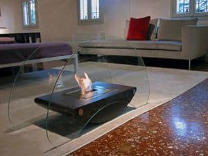 Picture of Bolla, modern fireplace