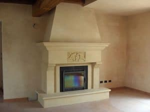 Picture of Fireplace Bologna, elegant fireplaces
