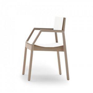 Maki 03724/03725, Stackable fireproof armchair