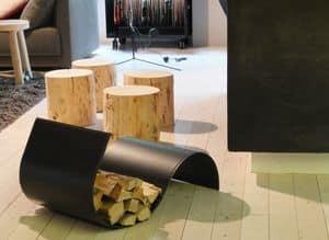 Firestyle & Limac Design by As.tra Sas, Log holder