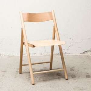 Chair 184, Outlet folding chair, made of wood