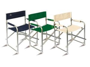 CHAP01, Aluminium director chair for outdoor use