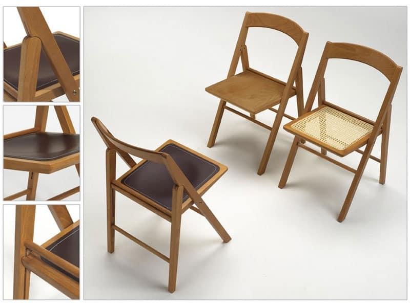 Ethel, Space-saving chair, comfortable and versatile