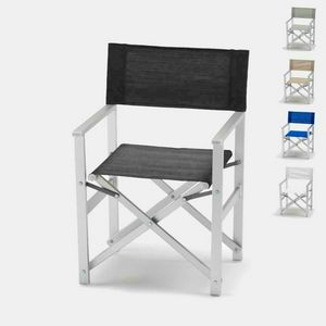 Director aluminum beach chair Regista � RE800LUX, Beach chair, foldable, space saving
