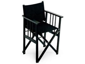 Regista D, Comfortable folding chair, for catering and conferences