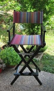 Regista P High, Director's chair with summer colors