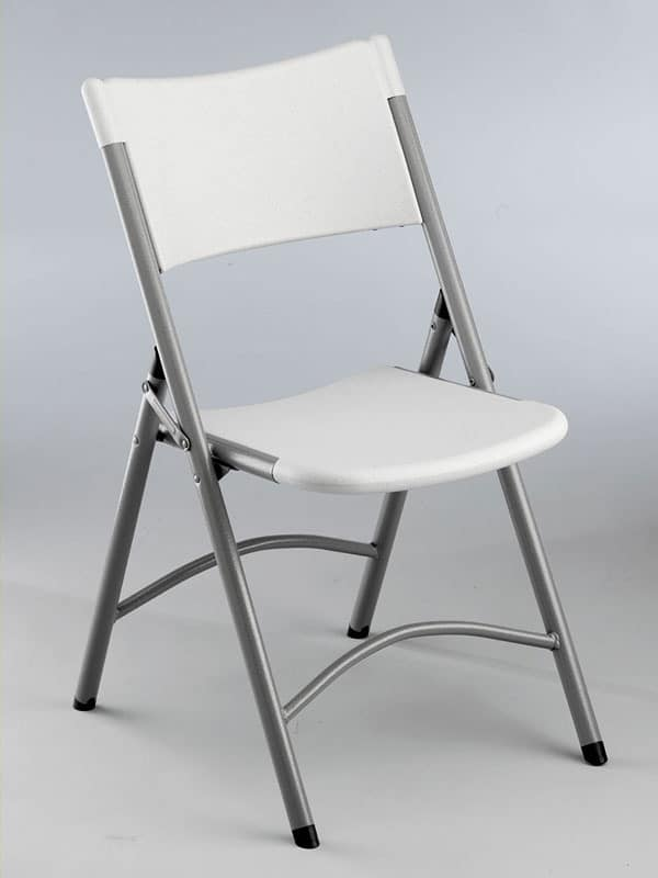 Folding chair stackable for outdoors and office