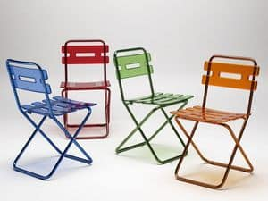 Picture of Sdry coloured, space-saving chair