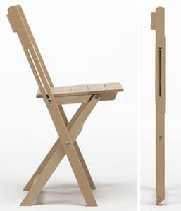 Trip, Lightweight chair, foldable, space saving