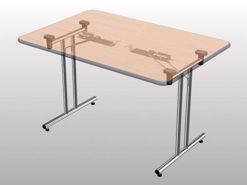 Tables folding tables idf - Table pliante metal ...