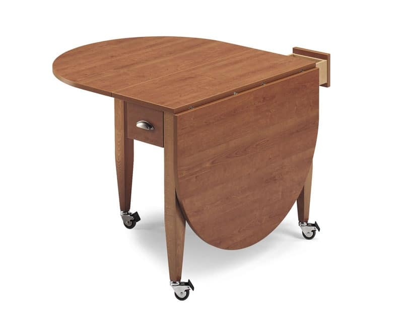 Fly, Folding table in beech wood