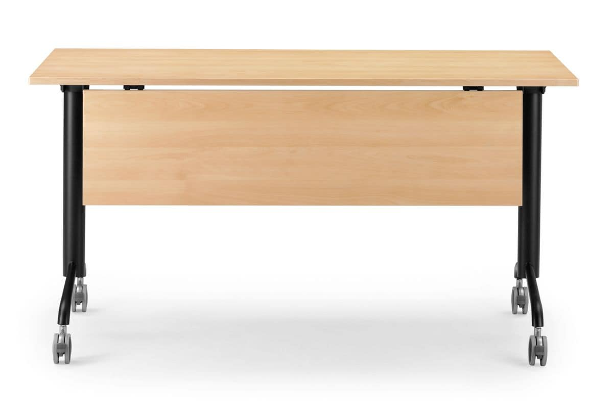 Table With Folding Top And Blocking Wheels IDFdesign