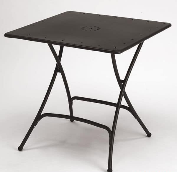 Pieghevole, Folding metal table for outdoor