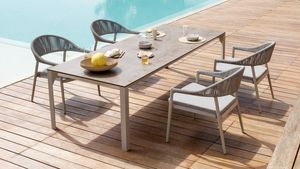 Babette low, Garden table, reduced height