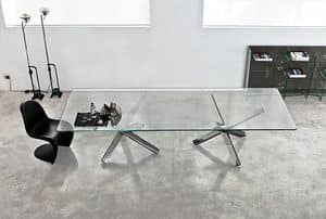 Picture of Aikido 2 bases, table with glass surface
