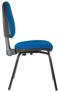 Ariel 4 legs, Upholstered chair for office guests