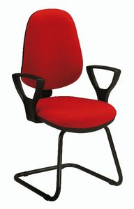 Bug V 316, Chair for office visitor, padded
