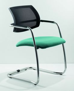 City 133, Chair for office guests, with padded seat