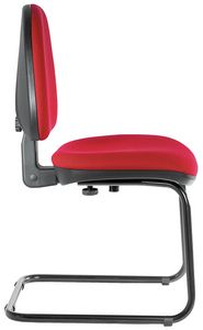 Ergovar cantilever, Stuffed chair for office, without castors