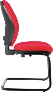 Nuvola cantilever, Office visitor chair with adjustable backrest