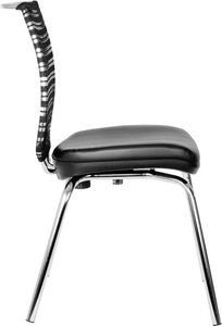 Prestige 4 legs, Office chair with four legs base, backrest in mesh