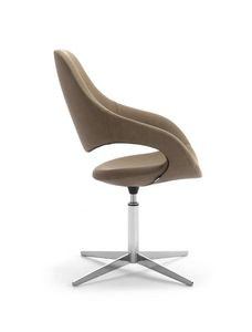 Samba Plus Blade, Modern chair with swivel base with 4 races