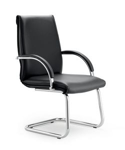 UF 584 / S, Sled chair with upholstered shell, Upholstery options