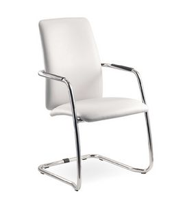 Wait 137 H, Cantilever chair for office visitors