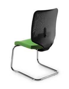 Air Mesh V 458, Guest office chair with lumbar support