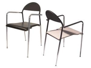 Picture of Gabbiano, metal chairs