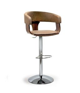 CG 83912 SG, Enveloping stool, adjustable in height