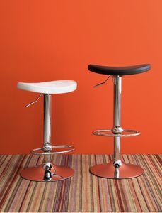 SG 344, Chromed swivel stool with gas lift