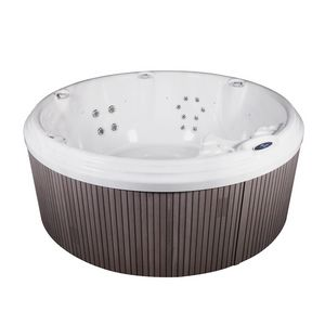 Boulevard 200, Small round swimming pool, with whirlpool and water filters