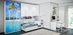 Picture of Allwood 2L, customized children bedroom