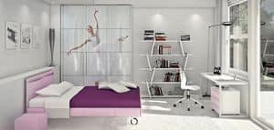 Picture of Allwood 5S, complete kids' bedroom