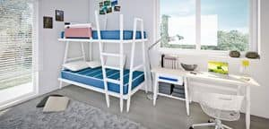 Picture of Allwood 5M, bed and nightstand for children