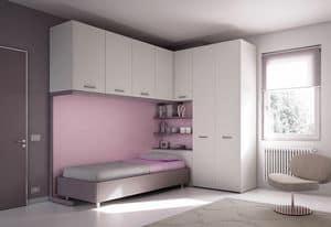 Bridge KP 208, Modern children bedroom, designed in Italy
